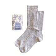 Healing socks ラベンダー&グレープ/Healing socks 商品写真 1枚目