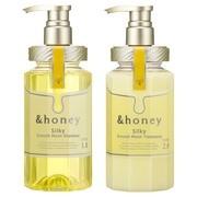 &honey Silky スムースモイスチャーシャンプー1.0/ヘアトリートメント2.0/&honey(アンドハニー) 商品写真 2枚目