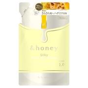 &honey Silky スムースモイスチャーシャンプー1.0/ヘアトリートメント2.0シャンプー(詰め替え用)/&honey(アンドハニー) 商品写真