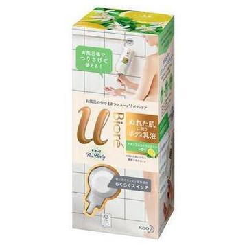 ビオレu/ザ ボディ ぬれた肌に使うボディ乳液 ナチュラルシトラスティーの香り 商品写真 2枚目