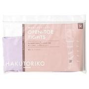 着圧オープントゥタイツ92:ラベンダー/HAKUTORIKO 商品写真