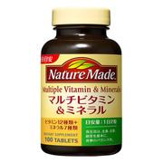 マルチビタミン&ミネラル100粒/ネイチャーメイド 商品写真
