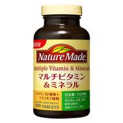 マルチビタミン&ミネラル200粒/ネイチャーメイド 商品写真