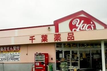 ヤックスドラッグ 東金田間店