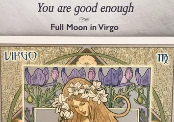 乙女座満月 自分と周りの人の幸せのために自己管理をしっかりするタイミング