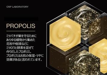CNP Laboratoryの代表的な保湿成分「プロポリス」はハチミツと同じ?