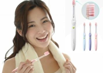 ツルツル美白!ホワイトニング効果38%アップ イオン歯ブラシ「ionic beauty」新発売