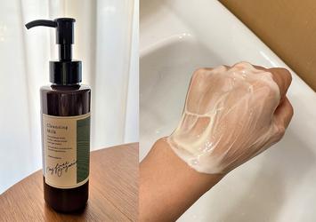 【NEW】100%自然成分、W洗顔不要。肌に優しい3STEP「クレンジングミルク」