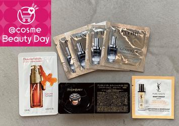 """【@cosme Beauty Day】10月24日から開始★何がもらえる?""""特別サンプル""""使ってみた!"""