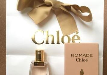 今さらながらChloe NOMADE 香りの選択肢が拡がります(*´-`)